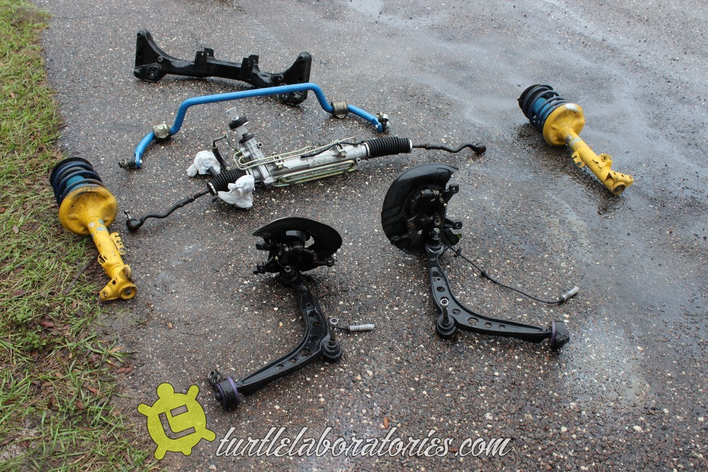 1993 BMW E36 Street and Track Build - Refurbishing Parts