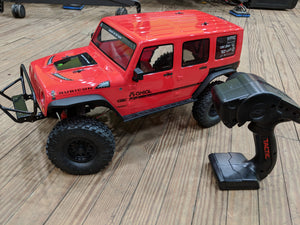 Axial SCX10ii CRC Jeep Wrangle RC Crawler Project