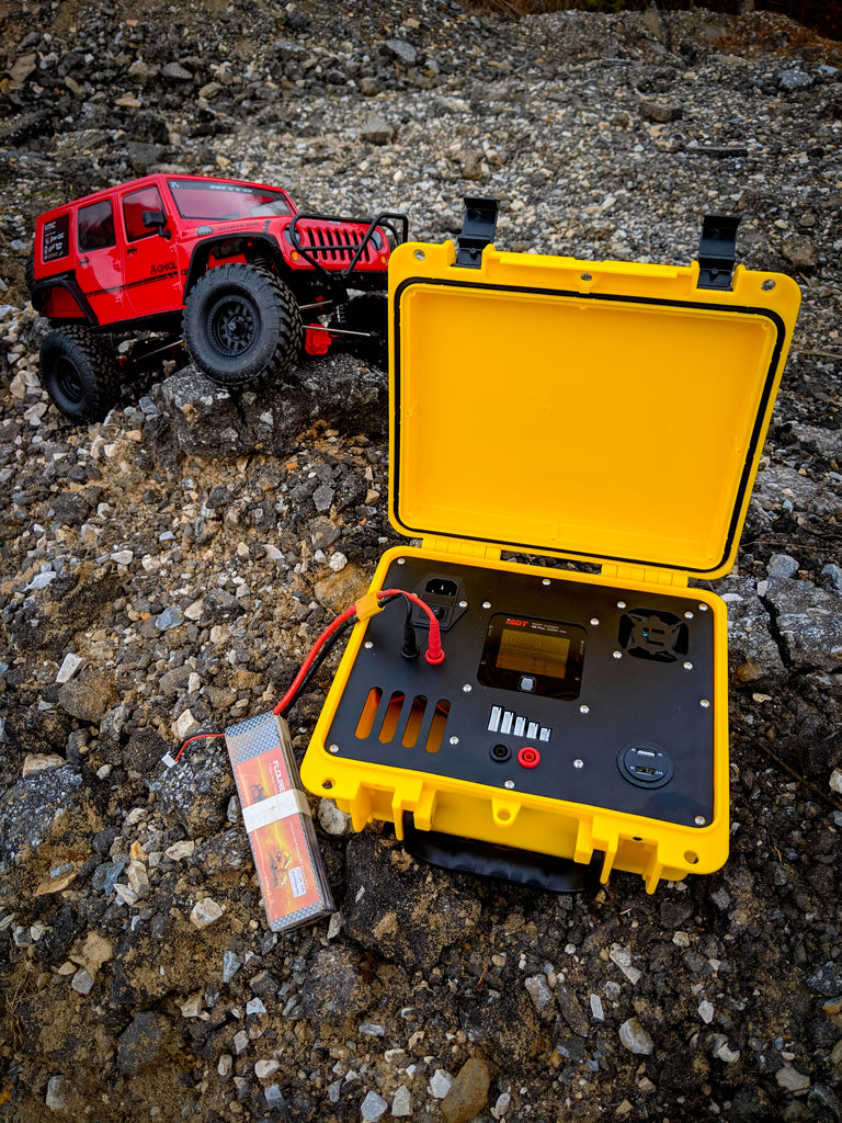 Portable Field Charging Box for ISDT Q6 RC Charger