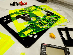 We Now Offer Laser Cut Acrylic Plates for Our Charger Kits!