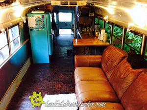 School Bus RV Conversion Chapter 8 - Living the Life