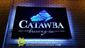 Catawba Brewing Sign - Biltmore Village