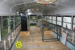 School Bus RV Conversion Chapter 6 - Floor Plan