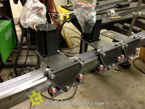 CNC Plasma Cutter Iteration 1: OK, we have motors, and a controller for them. Now what?