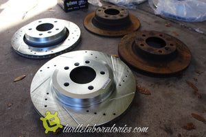 1993 BMW E36 Street and Track Build - Brakes