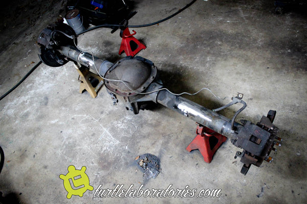 Jeep Cherokee Expedition Rig - 8 8 Rear Axle Swap – Turtle