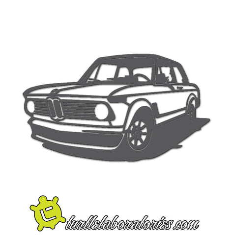 BMW 2002 Detailed Silhouette