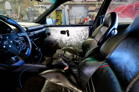 BMW E36 318ti Door Panel Delete Cards