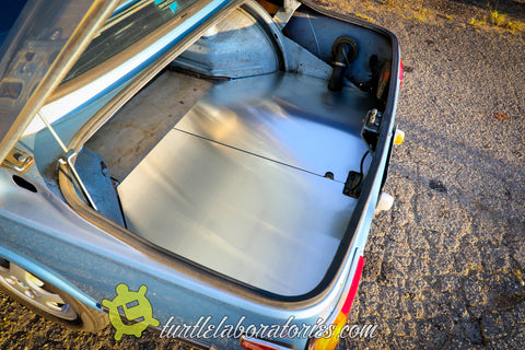 BMW 2002 Aluminum Trunk Panels