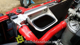 BMW E36 Coolant Reservoir Bracket ALUMINUM - For Fan Delete Mod (FDM)