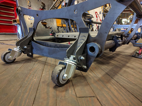 Wheel Dolly For Racing Simulator