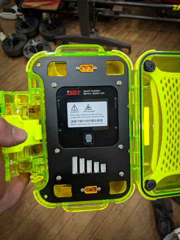 Single ISDT Q6 / Nanuk Nano 330 Field Charging Case Kit