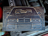 BMW E36 3D Wood Carving