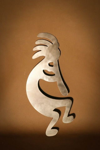 Kokopelli Metal Wall Art Hanging Home Decor