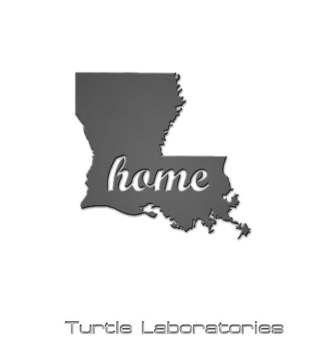 Louisiana State Home Sign