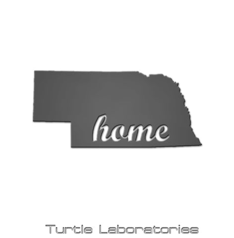 Nebraska State Home Sign