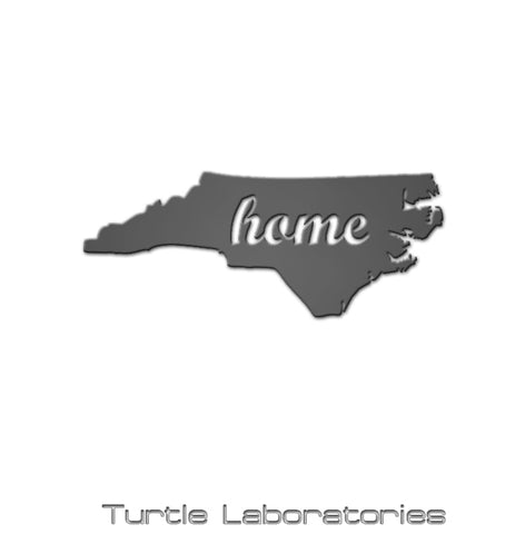 North Carolina State Home Sign
