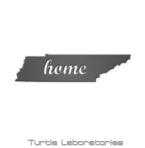 Tennessee State Home Sign