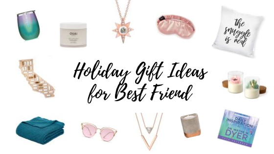 Holiday Gift Ideas for Best Friend Under $50