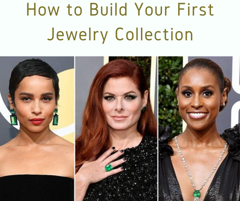 how to build your first jewelry collection