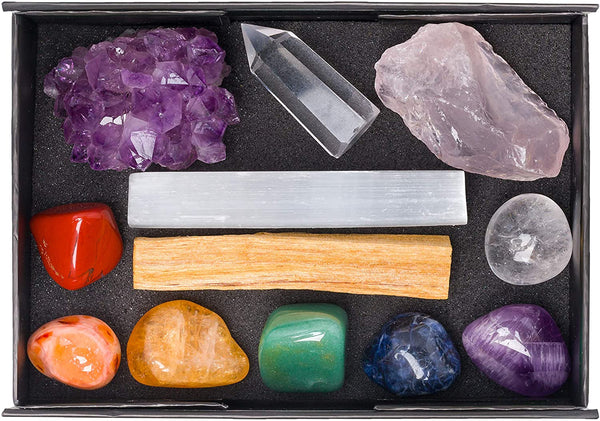 meditation stones for daily practice healing stone set
