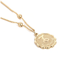Load image into Gallery viewer, capricorn zodiac sign charm birth sign necklace