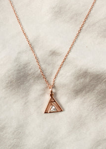 gold teepee necklace charm friendship pendant gifts for nature lovers gold camping jewelry charm