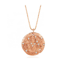 Load image into Gallery viewer, zodiac constellation celestial 18k gold layering necklace chain