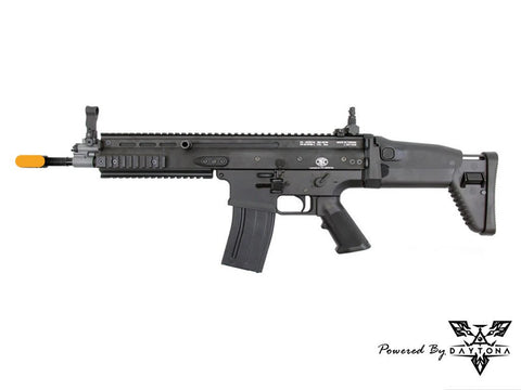 Daytona WE SCAR-L MK16 Complete Gun (Black/Tan)