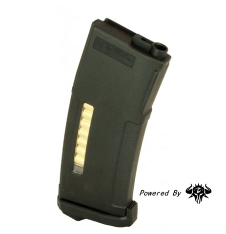 PTS M4 150 Round Enhanced Polymer Magazine (EPM) (Black/Tan) (Z Upgraded Follower)