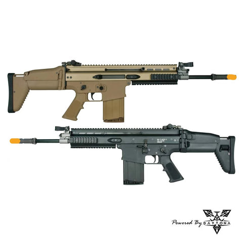 Daytona WE SCAR-H MK17 Complete Gun (Black/Tan)