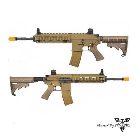 Daytona WE HK416 / 888  Basic Pre-built Complete Gun (Black/Tan)