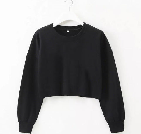 Trendy Cropped Jumper