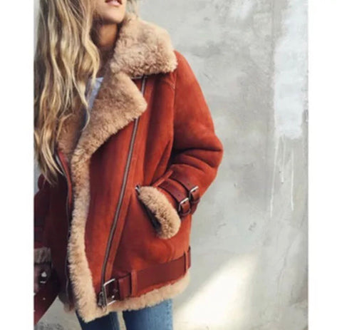 Fleece Lined Style Coat