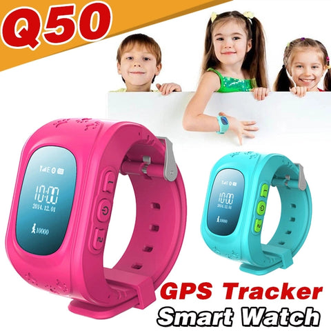BLUETOOTH GPS SMARTWATCH SAFEGUARDS FOR KIDS
