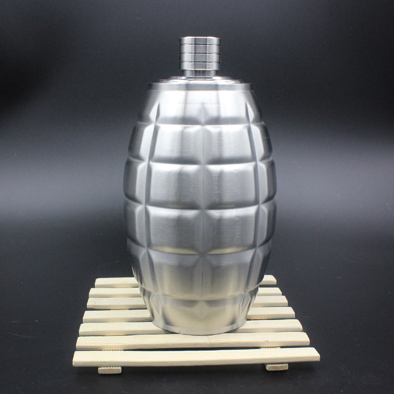 Grenade Shaped Whiskey Decanter