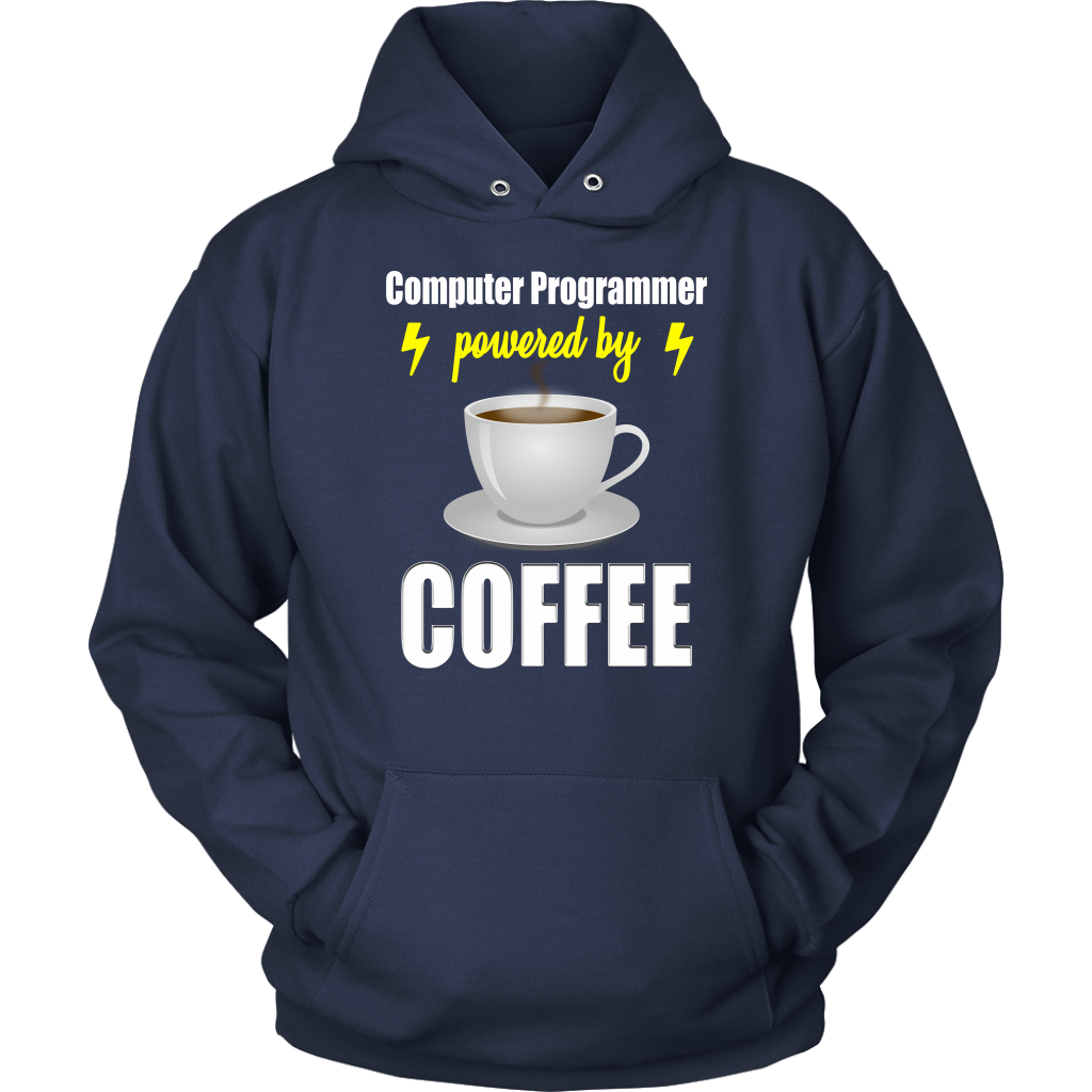 Computer Programmer Powered By Coffee