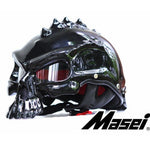 Gnarly Skull Motorcycle Helmet