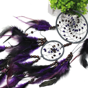 Purple Feather Dream Catcher