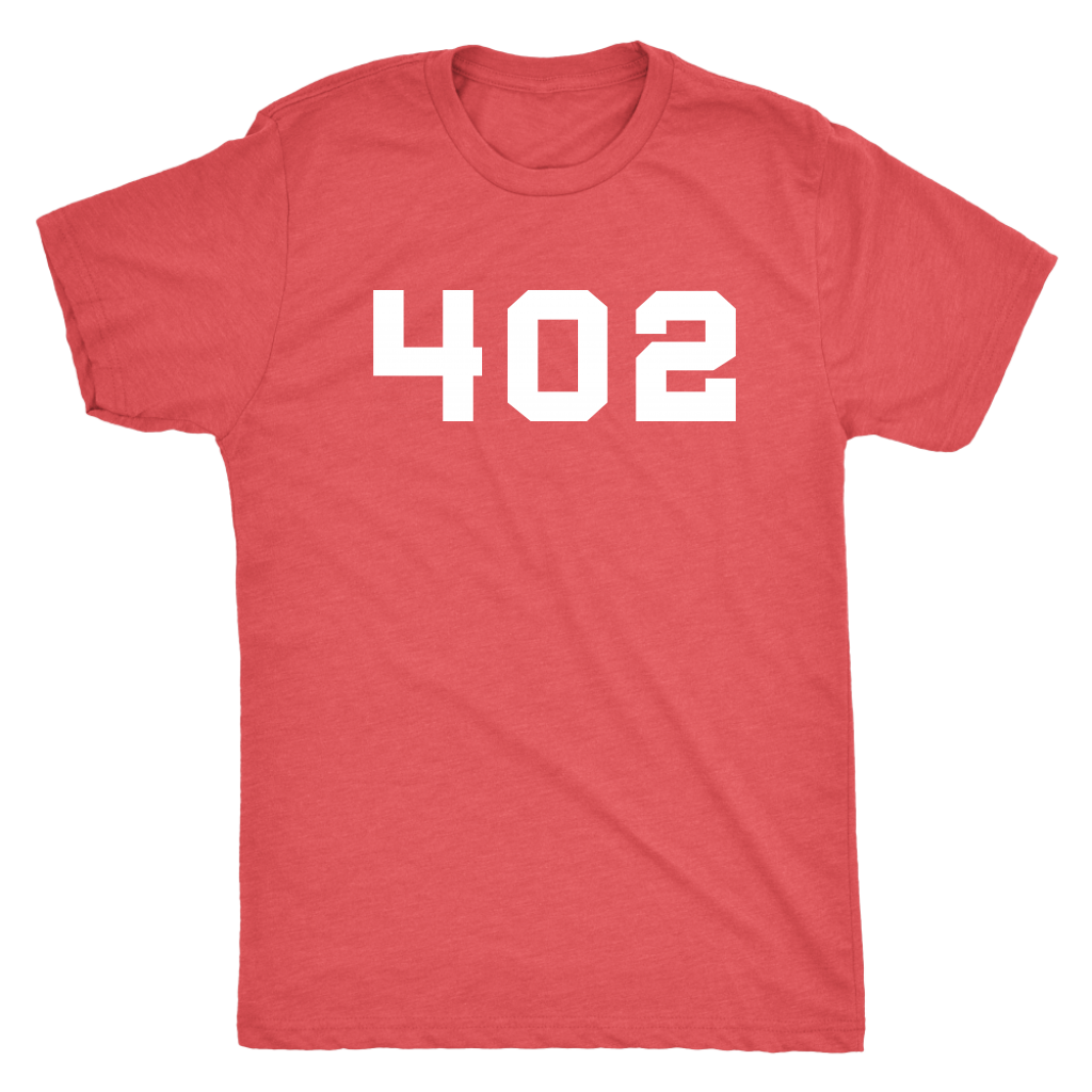 Nebraska 402 Area Code Shirts