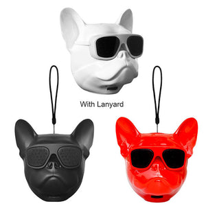 French Bulldog Wireless Bluetooth Portable Speaker