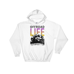 Offroad Life Hoodie - White