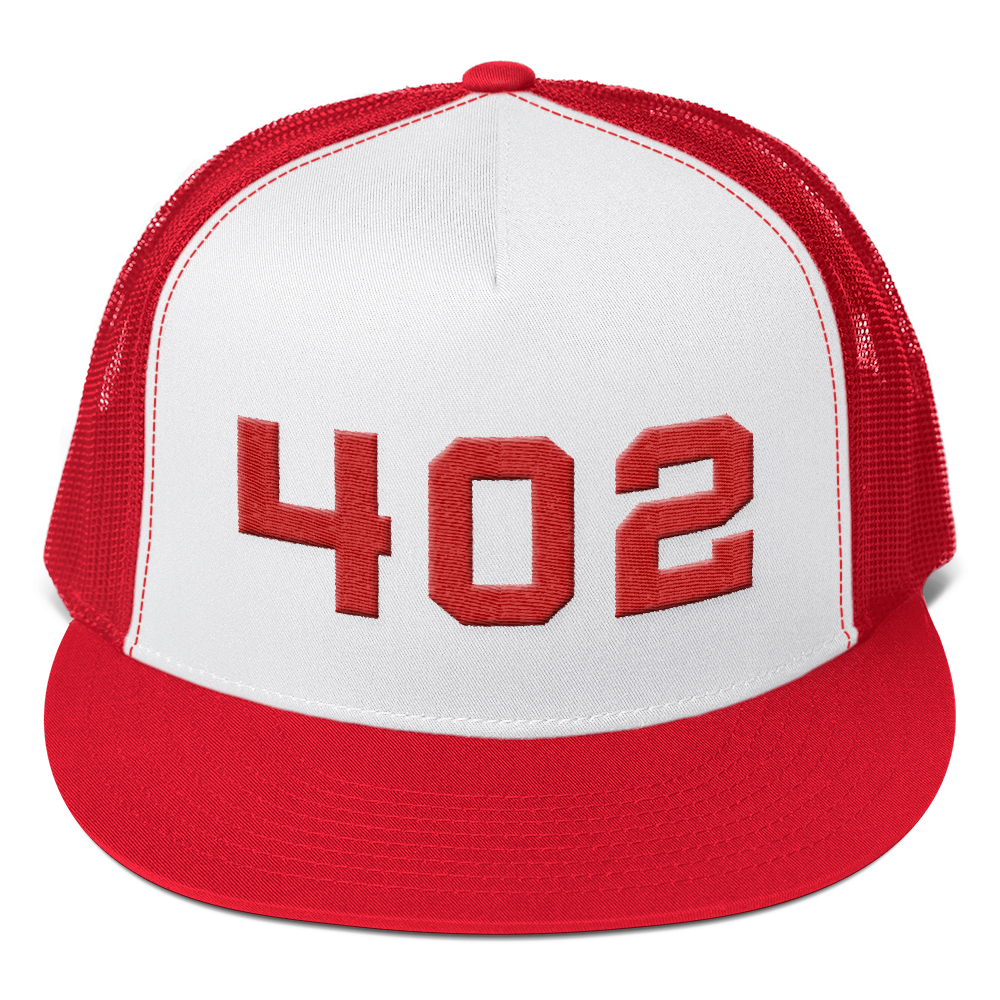 402 Nebraska Area Code Hat
