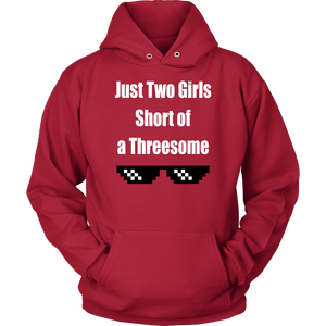 Just Two Girls Short of a Threesome