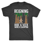 Bigfoot T-Shirt - Hide & Seek World Champion