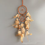 Retro Round Feather Dream Catcher
