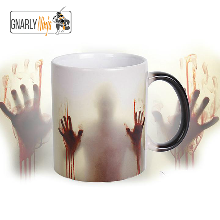 Heat Activated Zombie Mug