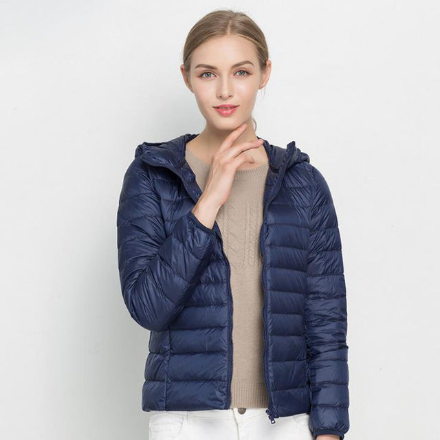 Hooded Light Puffer Jacket