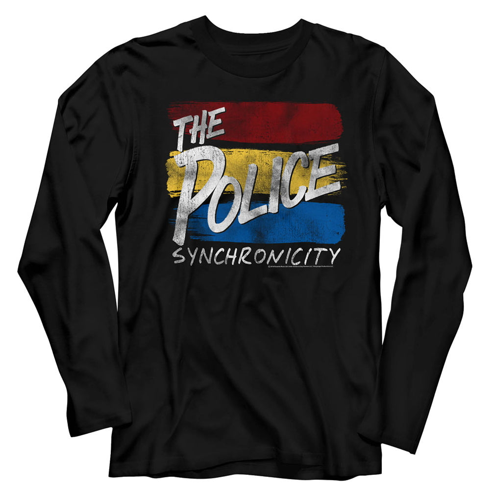 The Police Sync Inverted Long Sleeve T-Shirt