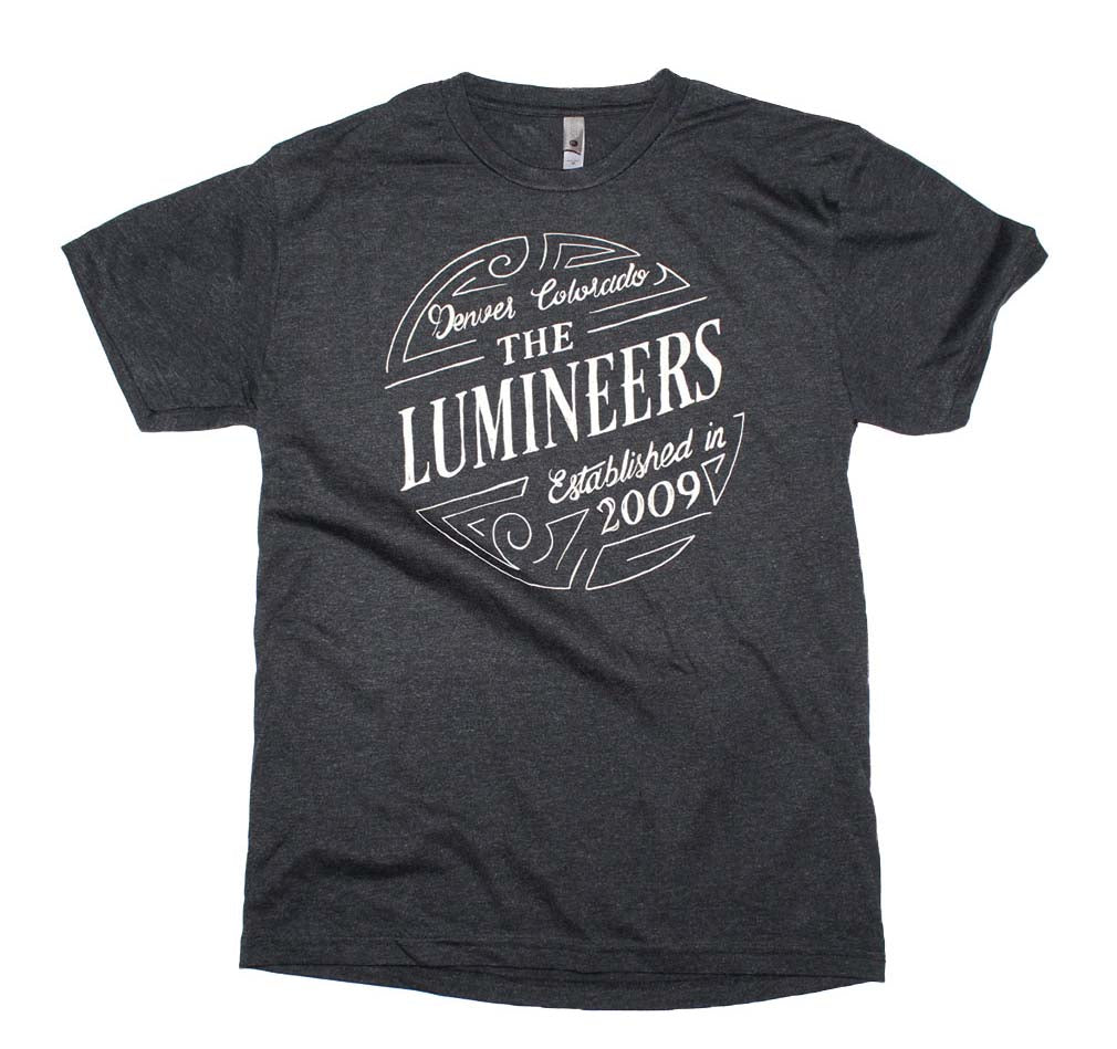 The Lumineers Circle Logo T-Shirt